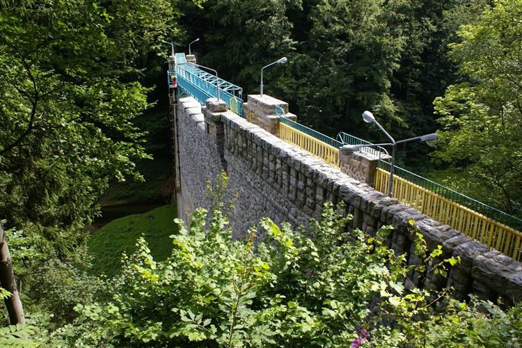 Přehrada na řece Wilczka - Międzygórze