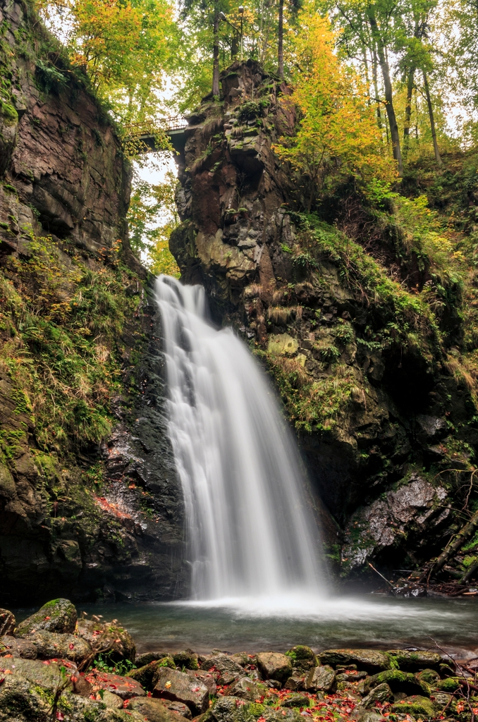 Rezerwat przyrody Wodospad Wilczki - Międzygórze